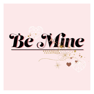 be mine square card