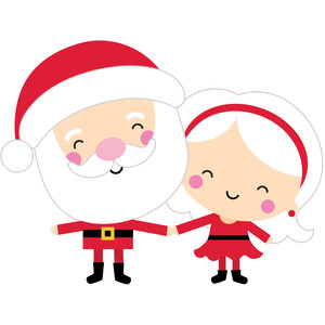 mr and mrs clause - christmas magic