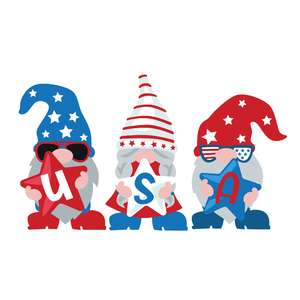 gnome usa trio