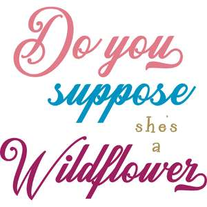 she's a wildflower quote