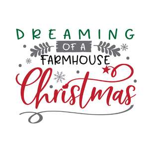 dreaming of a farmhouse christmas
