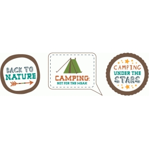 echo park camping labels