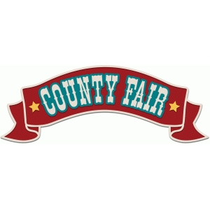 county fair old fashioned sign