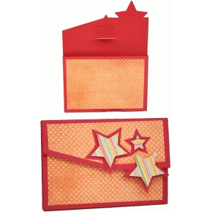 3d gift card star gift box