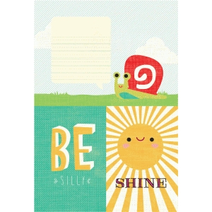 basic grey be sunshine journaling card