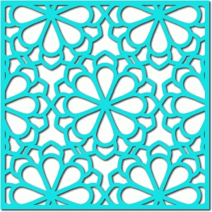 flower lattice