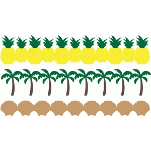 tropical borders