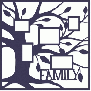 family tree placemat layout
