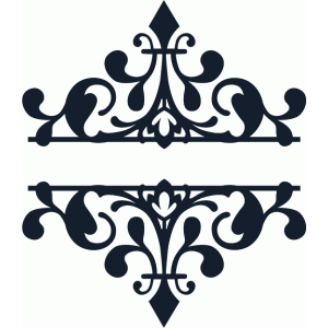 silhouette design store view design 66401 split diamond damask
