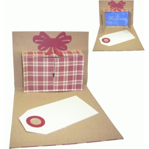 present pop-up gift card greeting card