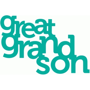 great grandson