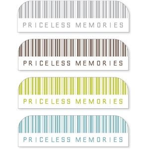 'priceless memories' sideline tabs