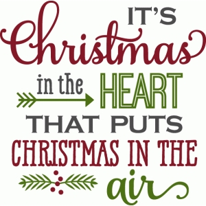 christmas in the heart - phrase