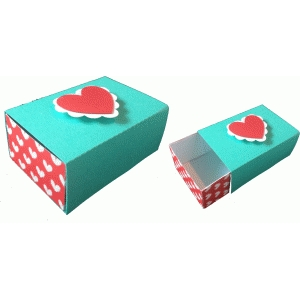 valentine slide box