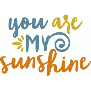 you are my sunshine phrase