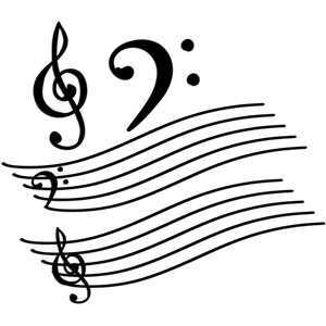 musical flourishes