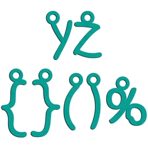 charms y - z (lowercase)