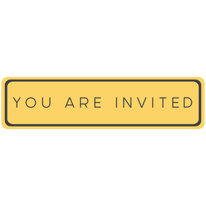 you are invited tag