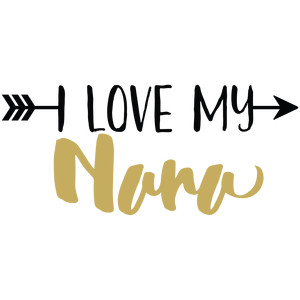 baby t-shirt: i love my nana