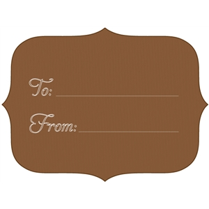 to & from gift tag