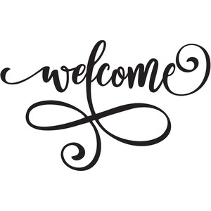 welcome flourish
