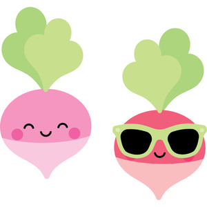 radishes - so punny
