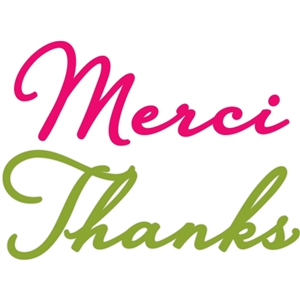 merci, thanks phrase