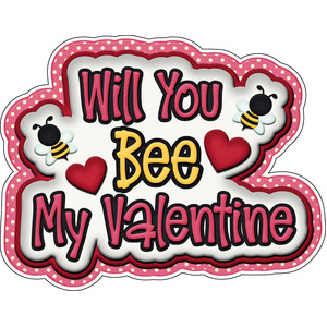 matching bee mine title will you be my valentine