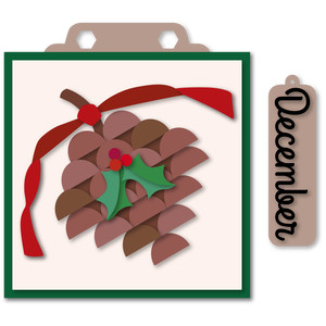 marquee december hang card