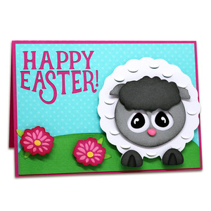 love ewe pop up easter card