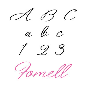 fomell font