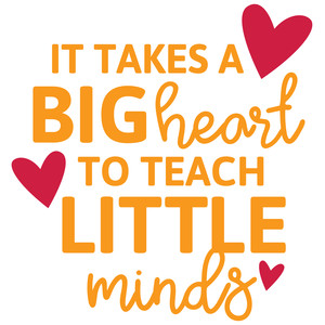 it takes a big heart