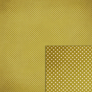 green polka dot background paper