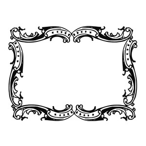 fancy frame