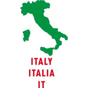 italy country outline