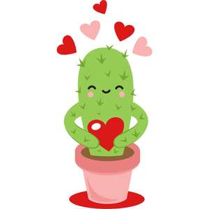 loveable cactus