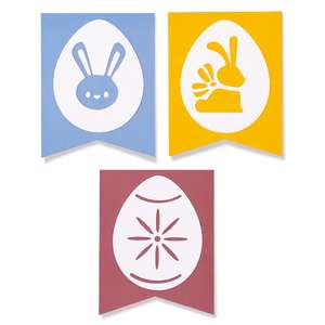 easter layered banners