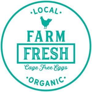 farm fresh cage free eggs