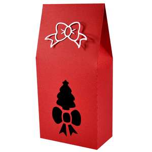 christmas tree upright gift box