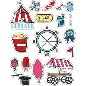 ml carnival stickers