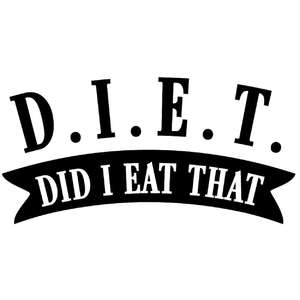 diet - did i eat that