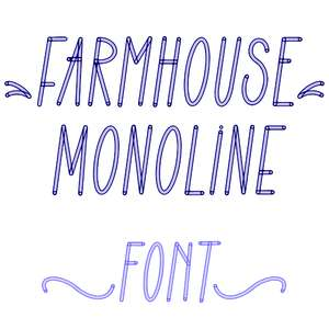 farmhouse monoline
