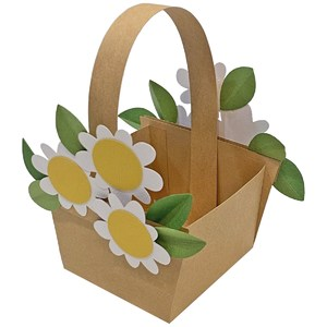 daisy basket treat box