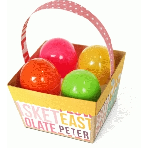 3d easter egg basket
