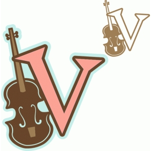 'v' is for violin (samantha walker)