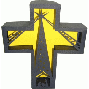nativity cross box