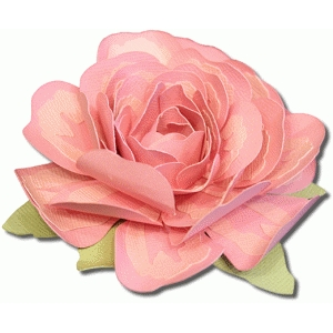 3d layered rose