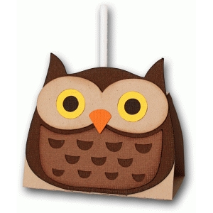 owl lollipop holder