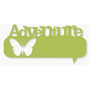 'adventure' thought bubble