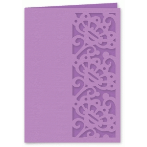 fancy dancy floral edge card
